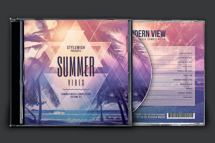 Thumbnail for Summer Vibes CD Cover Artwork