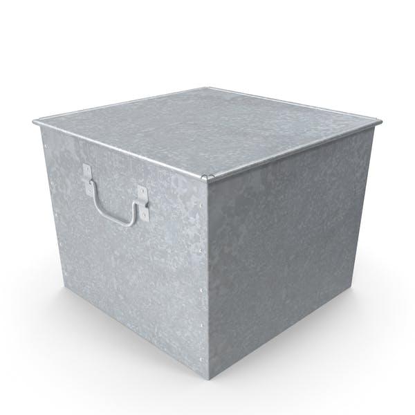 Оцинкованная коробка