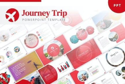 Шаблон путешествия PowerPoint