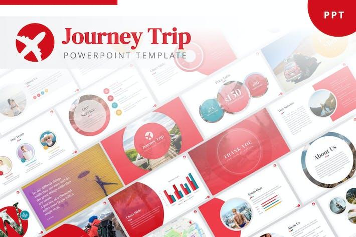 Journey Trip PowerPoint Template