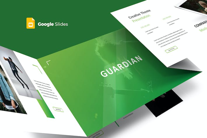 Thumbnail for Guardian - Google Slides Template