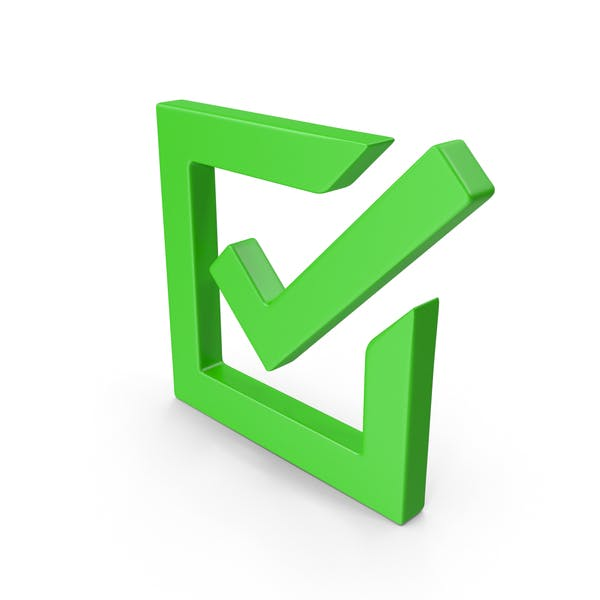 Checked Green Box Web Icon