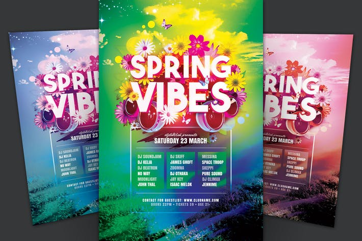 Thumbnail for Spring Vibes Flyer