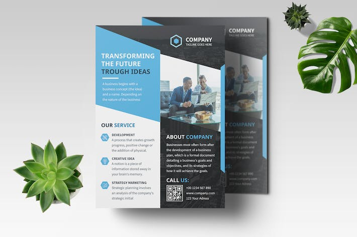 Thumbnail for Business Flyer Template Vol.02