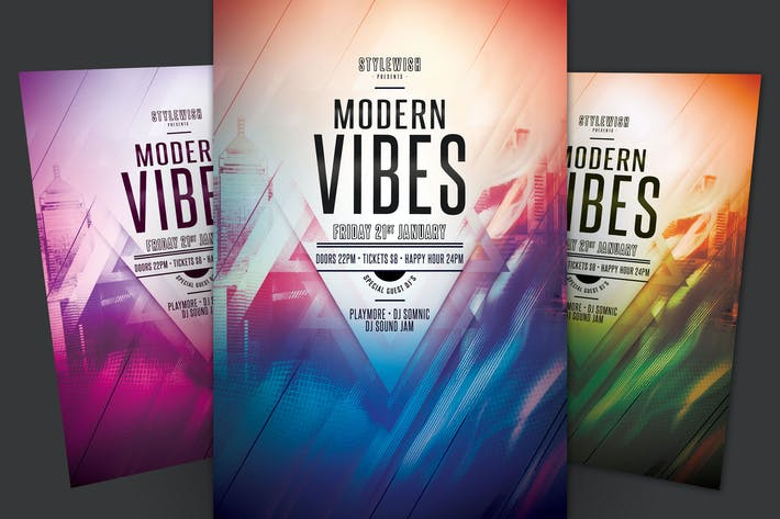 Thumbnail for Modern Vibes Flyer