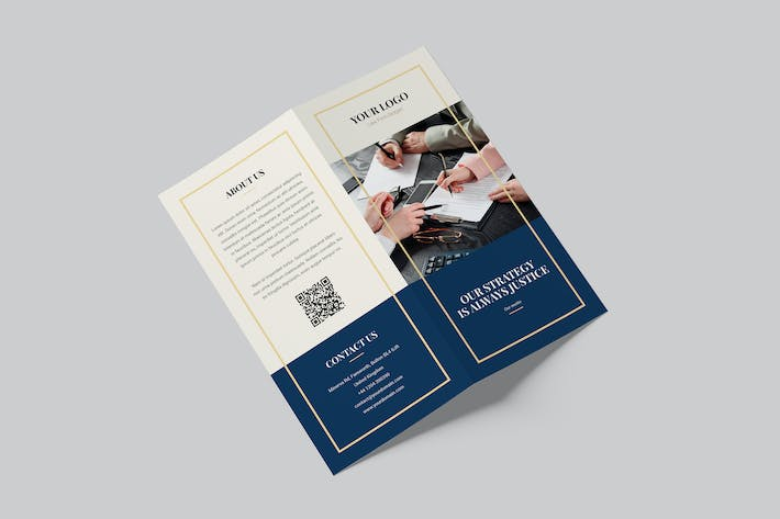 Thumbnail for Brochure – Law Firm Bi-Fold DL