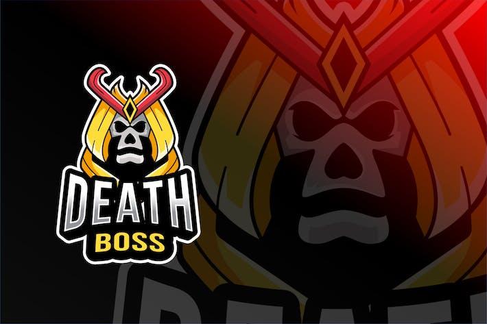Thumbnail for Death Boss Esport Logovorlage