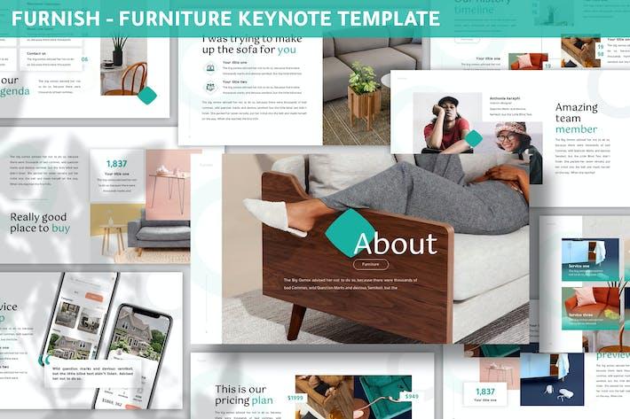 Thumbnail for Furnish - Furniture Keynote Template