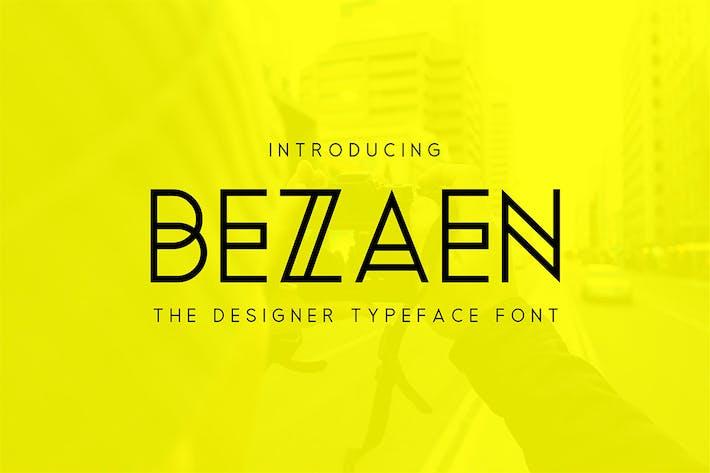 Thumbnail for Bezaen Typeface