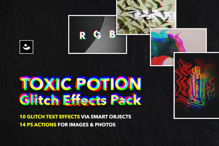 Thumbnail for Toxic Potion Glitch Effects Pack