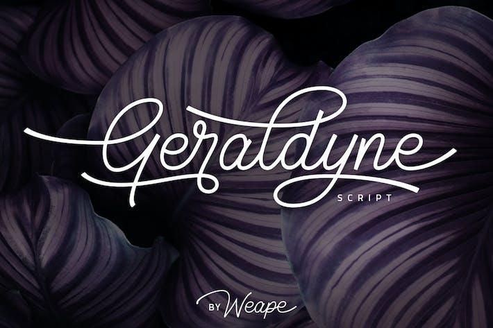 Thumbnail for Geraldyne Script