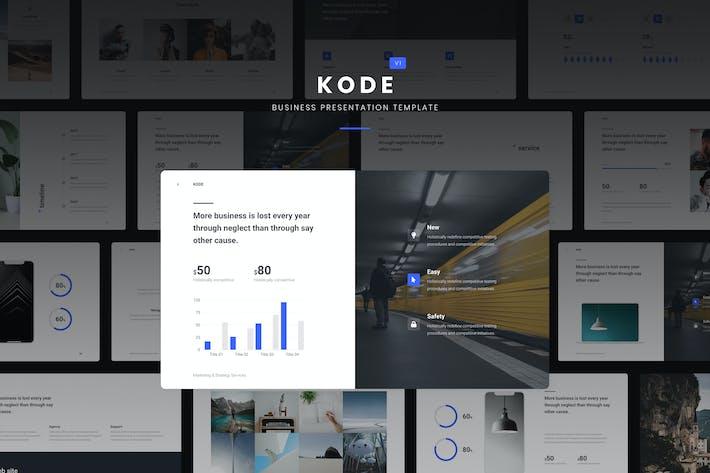 Thumbnail for KODE - Бизнес и творческий Шаблон (KEY)