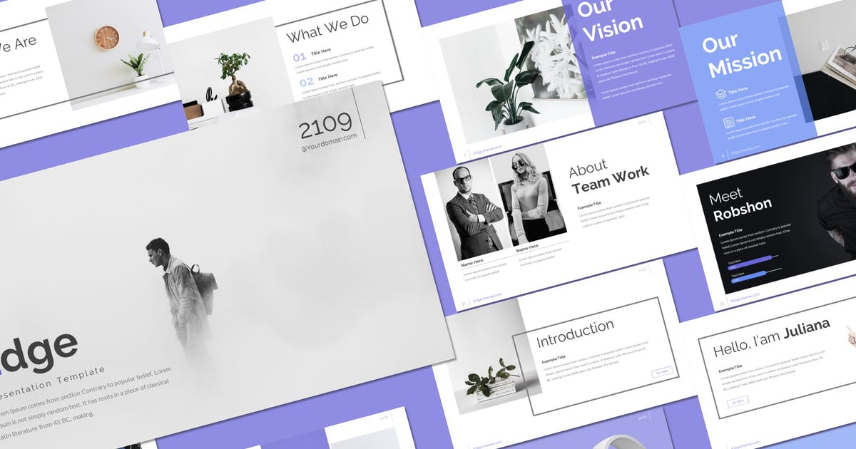 Download Edge - Keynote Template by inspirasign