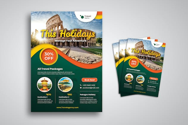 Travel Holiday Flyer