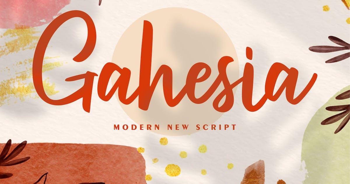 Download Gahesia | Modern New Script by Vunira