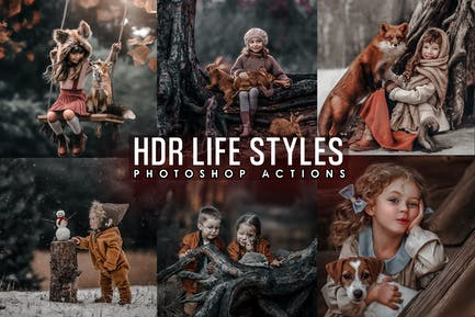 PRO HDR Life Styles Actions