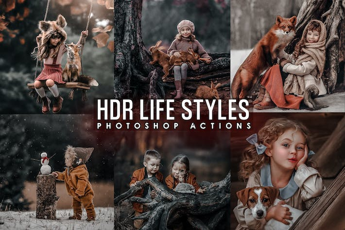 Thumbnail for PRO HDR Life Styles Actions