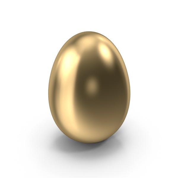 Gold Easter Egg
