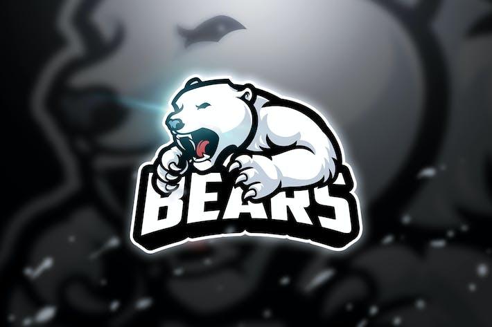 Thumbnail for Snow Bear - Mascot & Esport Logo