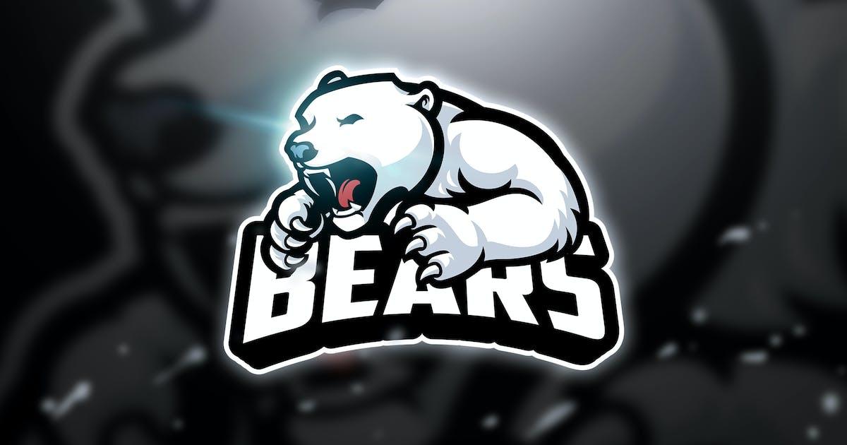 Download Snow Bear - Mascot & Esport Logo by aqrstudio
