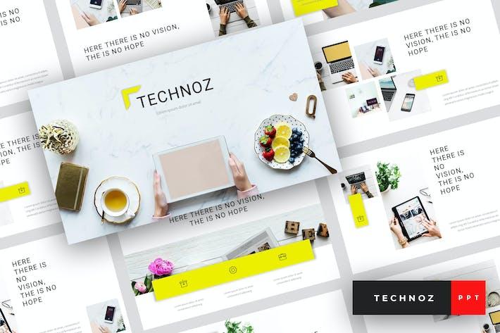 Thumbnail for Technoz - Internet Marketing PowerPoint Template