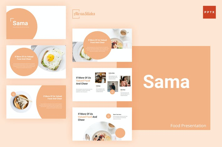 Thumbnail for Sama - Food Powerpoint Presentation Template
