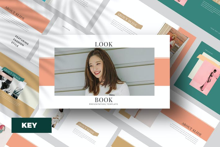 Thumbnail for Lookbook Keynote Template