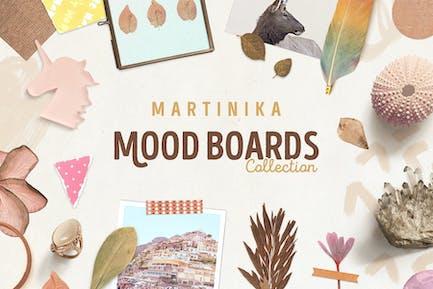 Martinika Mood Boards Colleción