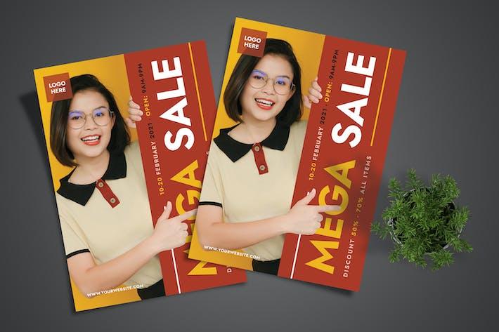 Mega Sale Flyer