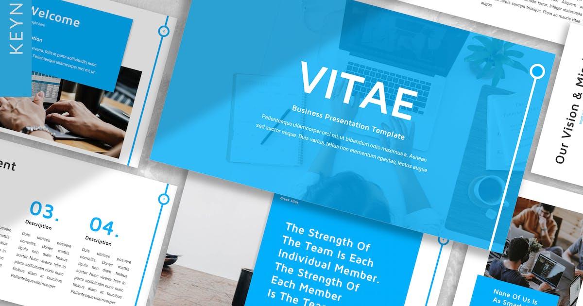 Download Vitae - Business Keynote Template by designesto