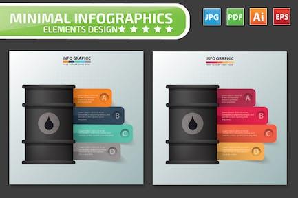 Gas Infographics Design