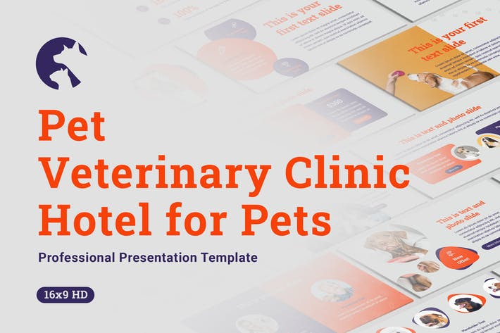 Pets and Veterinary Clinic Google Slides Template