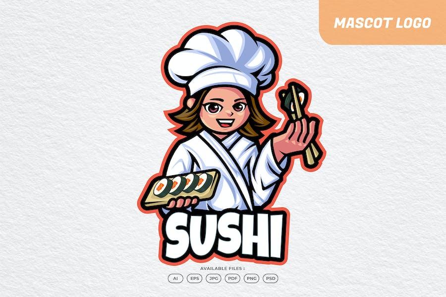 Sushi Chef Logo