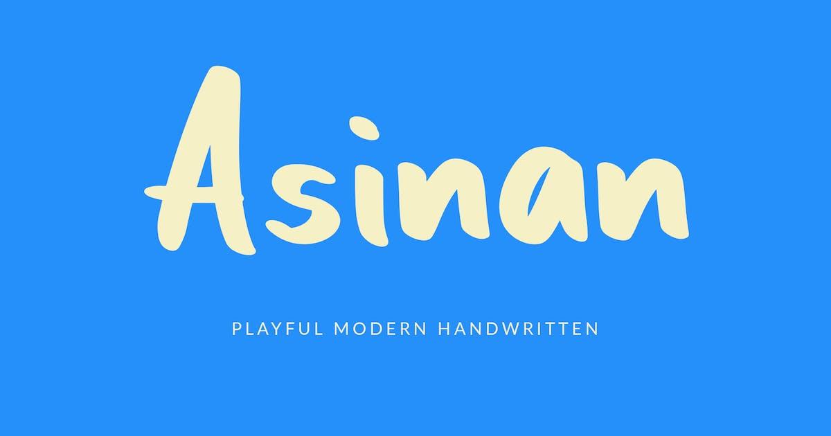 Download Asinan Playful Handwritten Font by Formatika