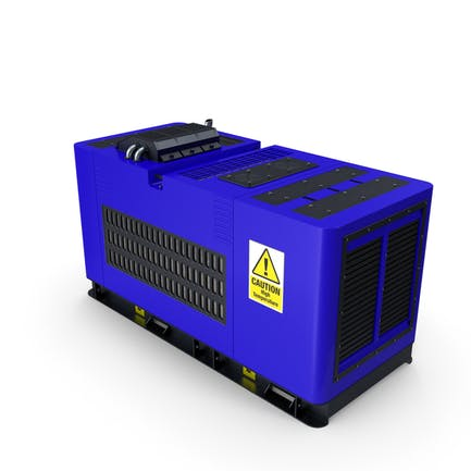 Dieselgenerator Blau