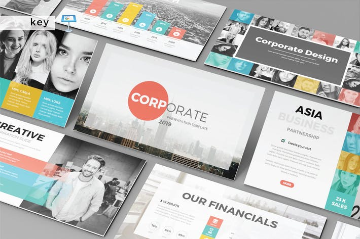 Thumbnail for CORPORATE - Multipurpose Keynote Template V155