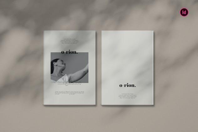 Orion Fashion Magazine Template BL