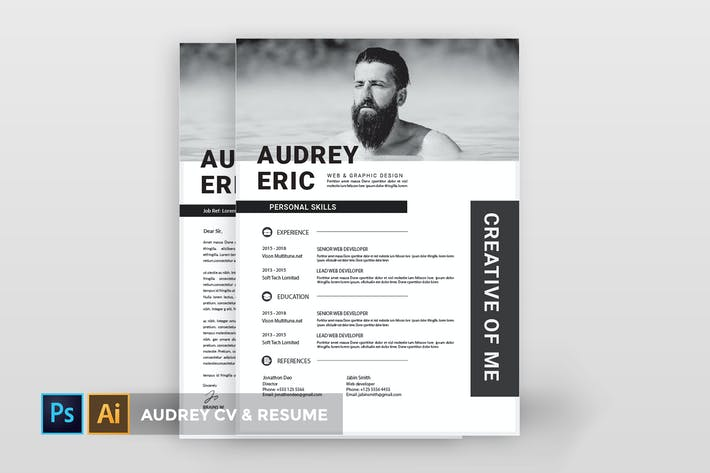 Thumbnail for Audrey Eric   CV & CV