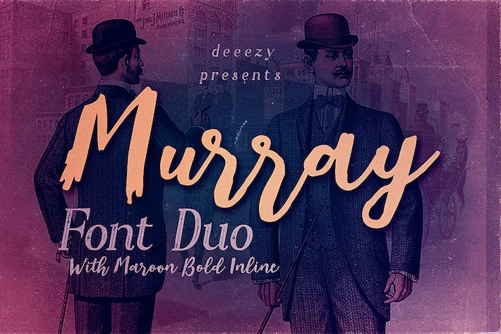 Thumbnail for Murray Script Duo de polices