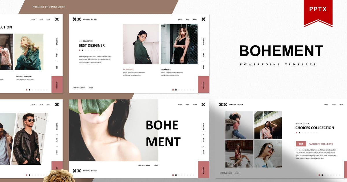 Download Bohement | Powerpoint Template by Vunira