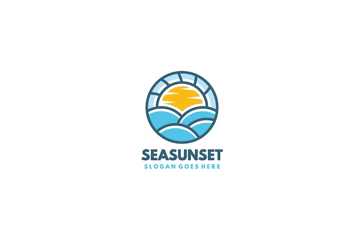 Cover Image For Sea Sunset Logo