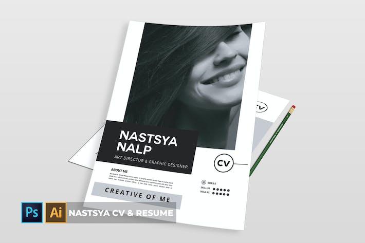 Thumbnail for Nastsya | CV & Resume