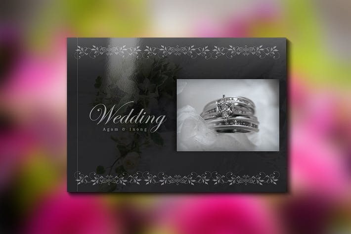 Thumbnail for Wedding Book Template