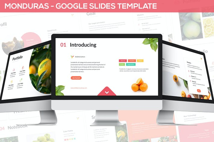 Thumbnail for Monduras - Nature Google Slides Template