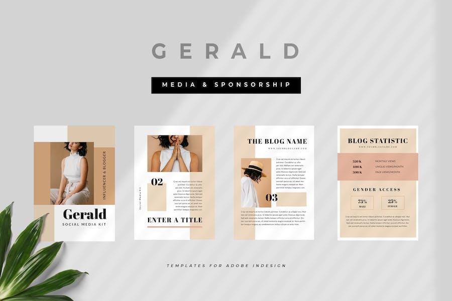 Gerald - Influencer Media Kit & Sponsorship