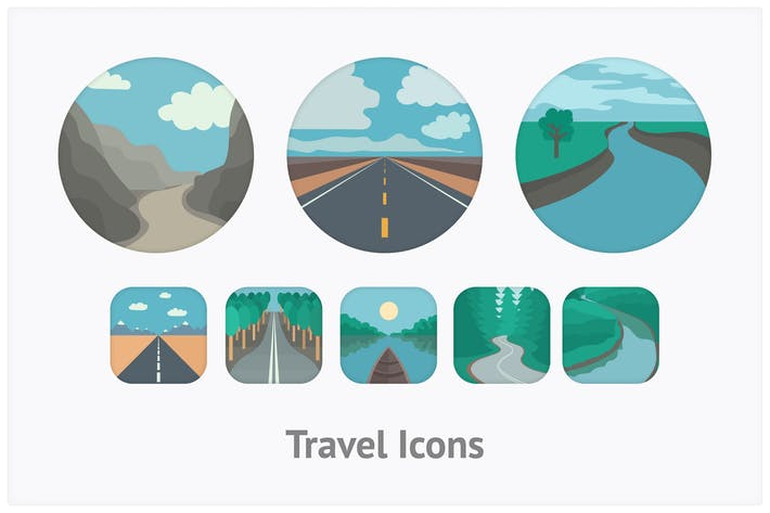Thumbnail for Travel Icons