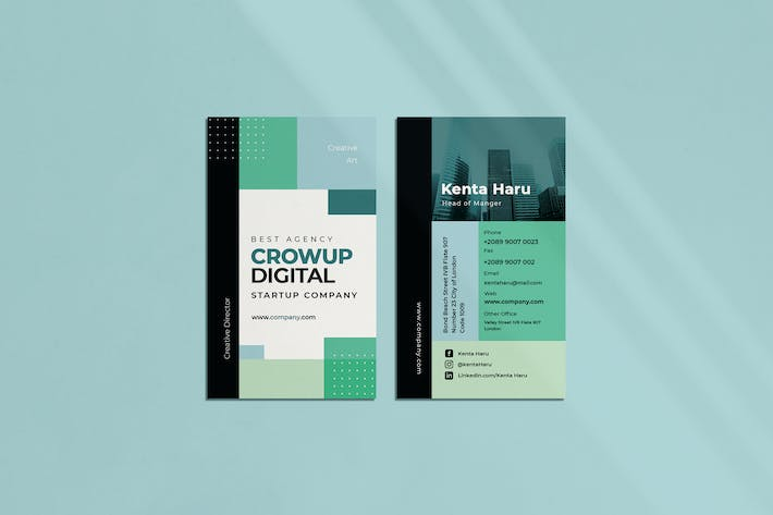 Thumbnail for Crow Up Business Card