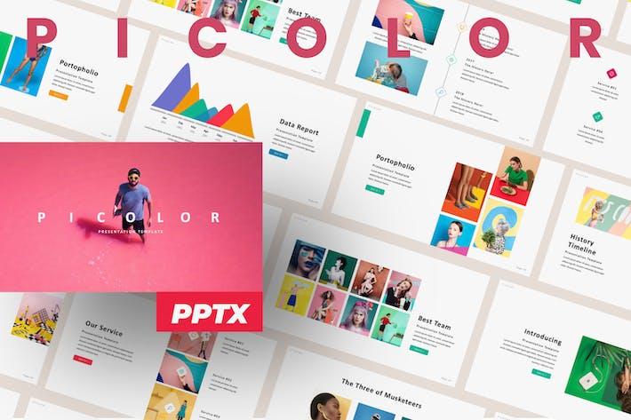 Thumbnail for Picolor Brand Presentation Template