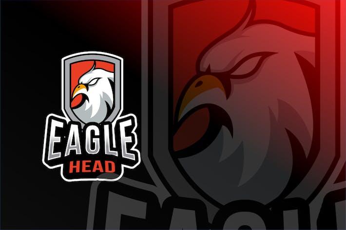 Thumbnail for Eagle Head Esport Logo Template