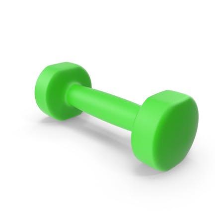 Green Dumbbell